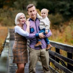 rodzice z synem