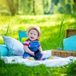 zdjęcia dziecięce na polanie