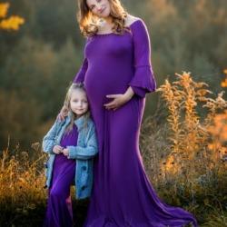 Matka z dzieckiem sesja ciążowa w Poznaniu