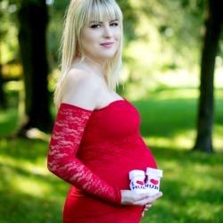 Matka z bucikami sesja ciążowa