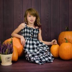 klasyczny portret jesienny